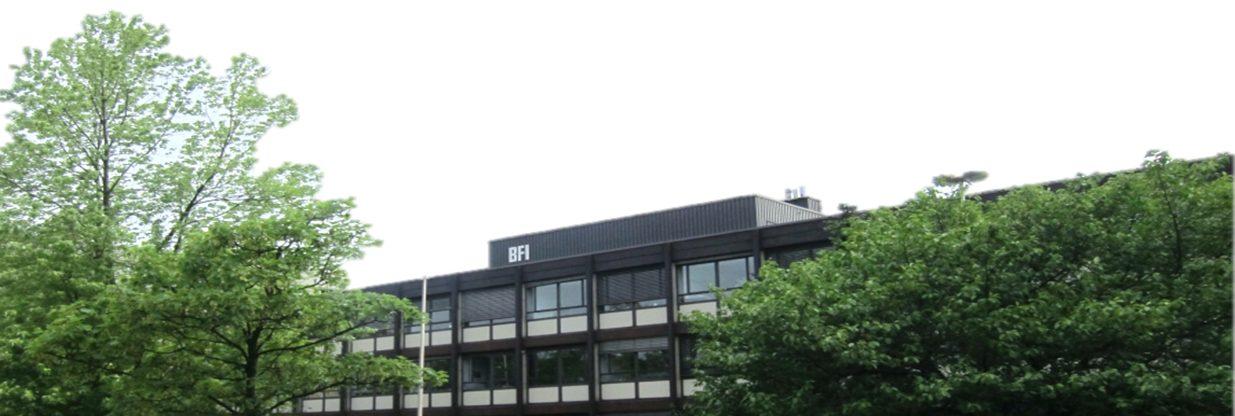 Das Hauptgebäude des BFI