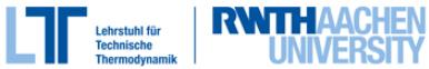 RWTH Aachen, Lehrstuhl für Technische Thermodynamik und Institut für Thermodynamik