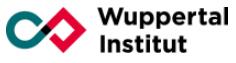 Wuppertal Institut für Klima, Umwelt, Energie gGmbH