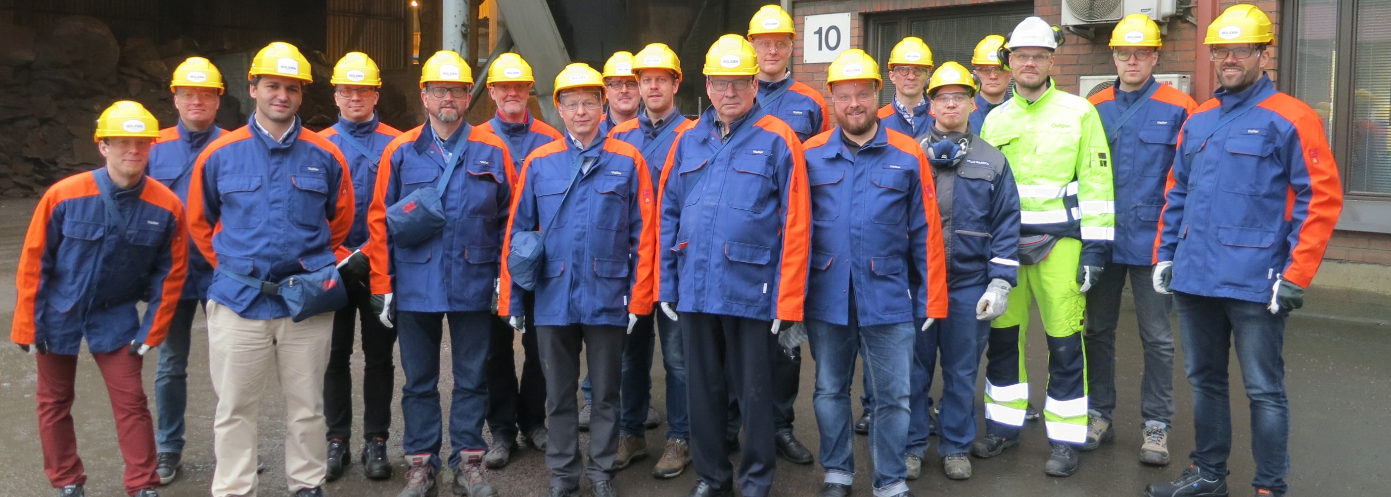 Gruppenfoto Boliden