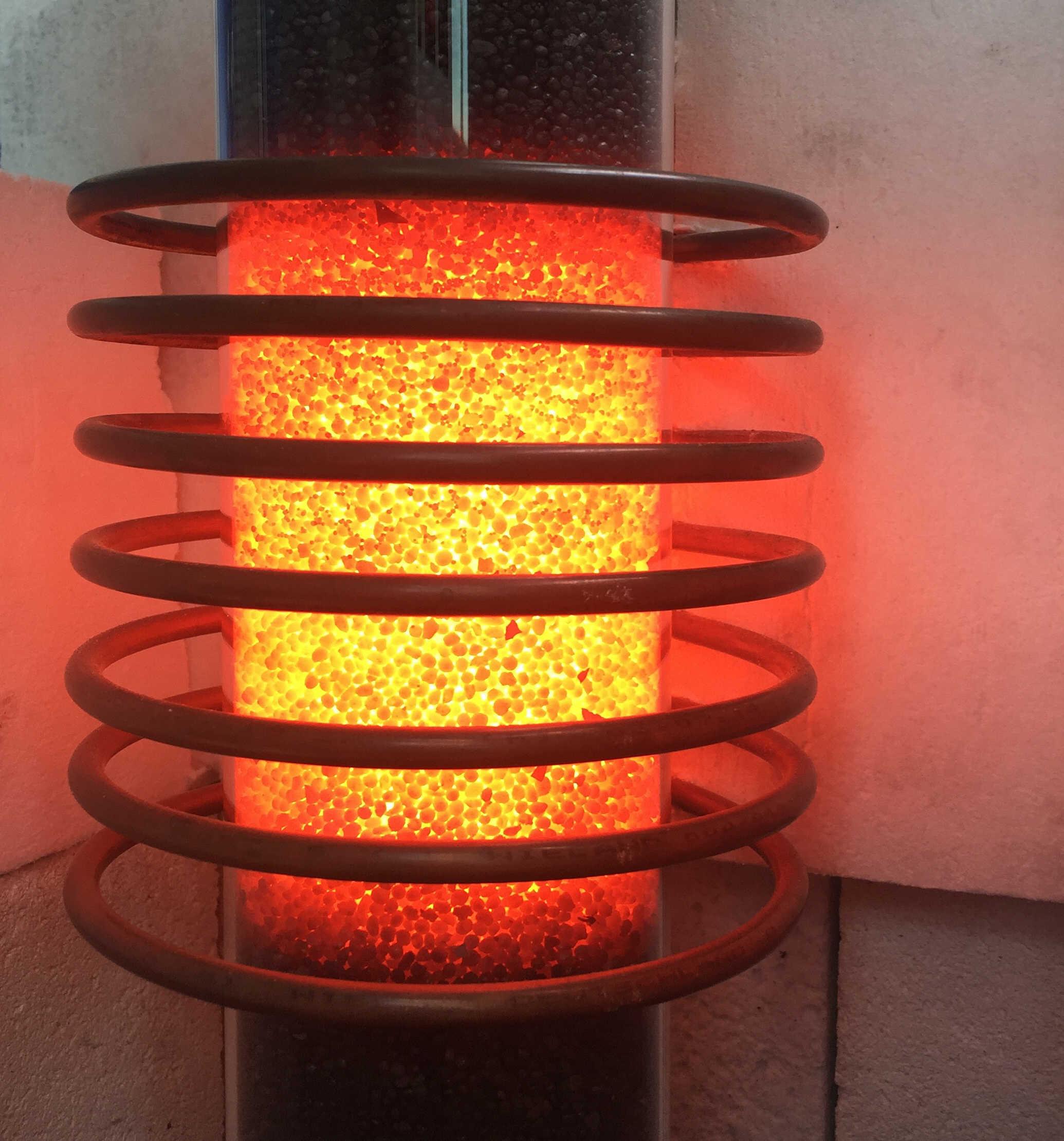 Reaktor, Wasserstoff und hochreiner Kohlenstoff