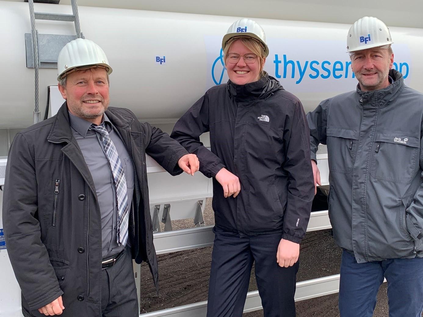 Versuche zur Injektion von Wasserstoff in den Hochofen im Projekt H2BF gestartet