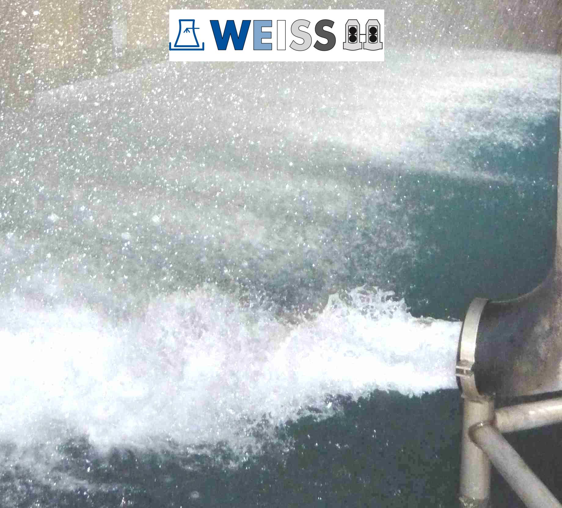 Kühlwasser im Umlauf