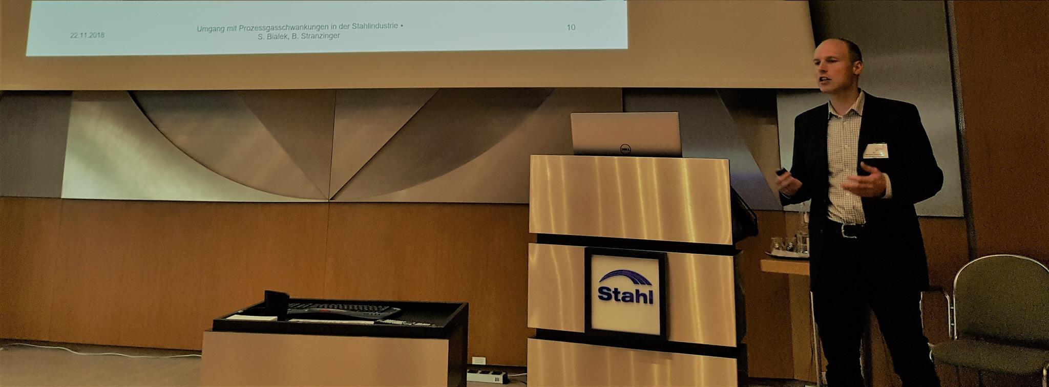 Vortrag: 22.11.2018 Umgang mit Prozessgasschwankungen in der Stahlindustrie