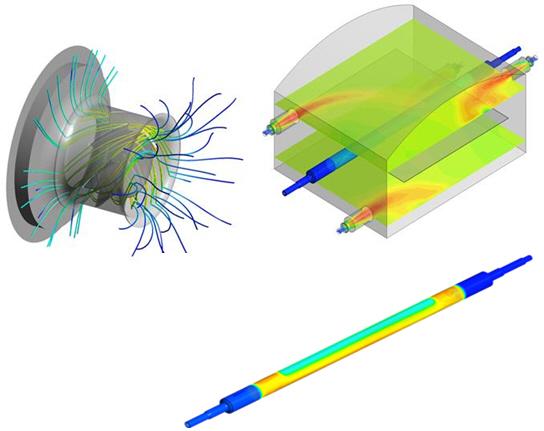 CFD- and FEM-Simulation